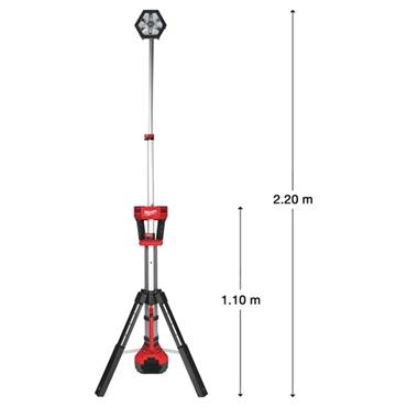 Milwaukee M18SAL-0 18 Volt LED Stand Light Body Only