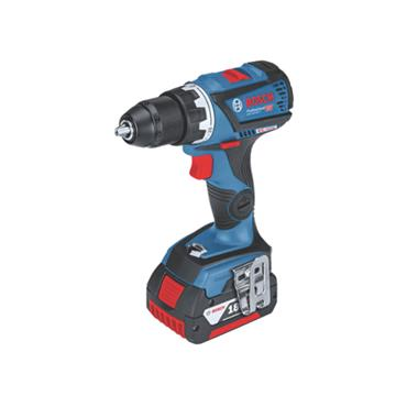 Bosch GSB 18V-60C 18 Volt Professional Combi Drill, 2 x 5.0Ah Batteries