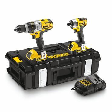 DeWALT DCK290M2T 18 Volt Lithium-Ion Twin Pack, 2 x 4.0Ah Batteries