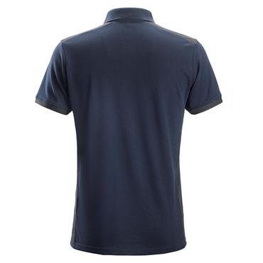 Snickers 2715 AllroundWork Polo Shirt - Navy/Steel Grey