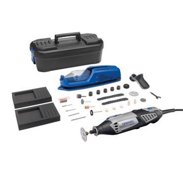 Dremel 4000-1/45 240 Volt Rotary Multi Tool Advanced Kit