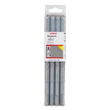 Bosch 2608833906 12 x 210mm 10 Piece Hammer Drill Bit Set