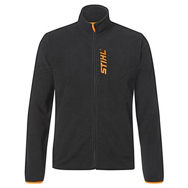 Stihl 042091000 Polyester Fleece Jacket - Black