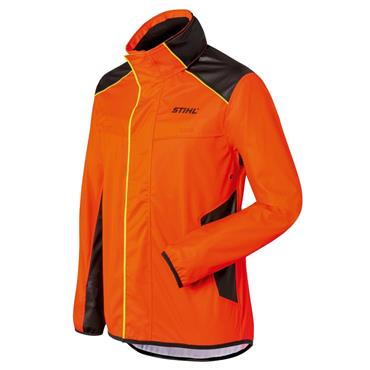 Stihl 008855400 DuroFlex Waterproof Jacket - Orange/Black