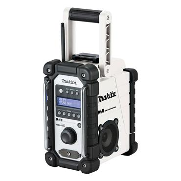 Makita DMR109W 7.2 - 18 Volt DAB Job Site Radio Body Only - White