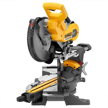 DeWALT DCS727T2 54 Volt XR Flexvolt Cordless Mitre Saw, 2 x 6.0Ah Batteries