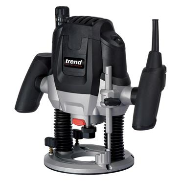 "Trend T7EK 240 Volt 1/2"" Variable Speed Router"