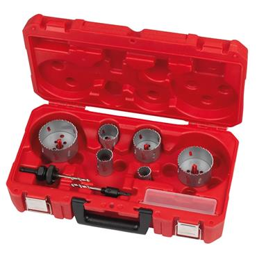 Milwaukee 4932464719 10 Piece Bi-Metal Contractor Holesaw Set
