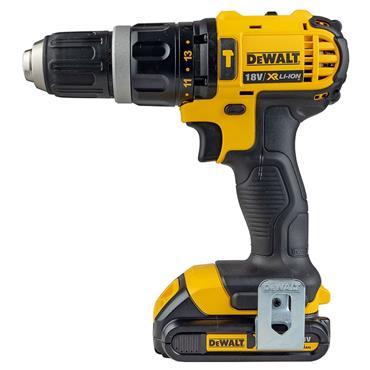 DeWALT DCZ285S2 18 Volt XR Combi Drill and Impact Driver Twin Kit, 2 x 1.5Ah Batteries