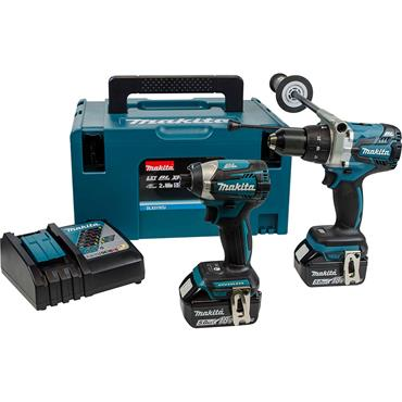 Makita LXT DLX2176TJ 18V 2 Piece Combo Kit
