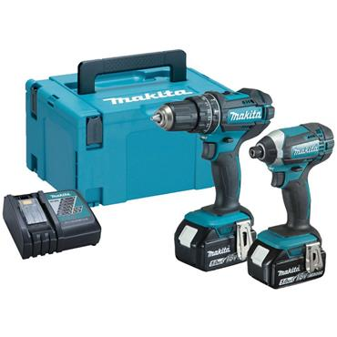 Makita DLX2131TK 18V LXT Cordless Twin Kit