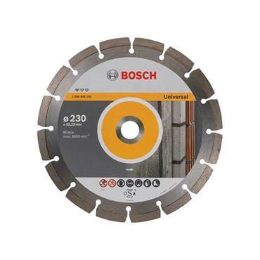 Bosch 2608615065 Universal Diamond blade 230mm x 22mm bore