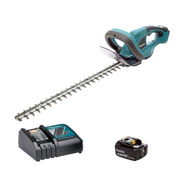 Makita DUH523RT 18 Volt 52cm Hedge Trimmer, 1 x 1.5Ah Battery