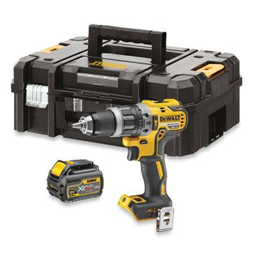 DeWALT DCD796T1 18 Volt Brushless Combi Drill, 1 x 6.0Ah Battery