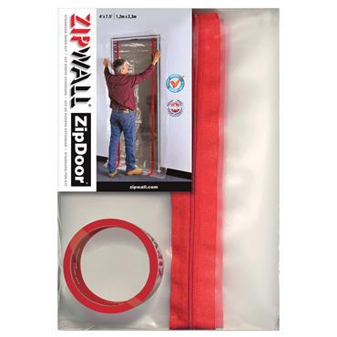 ZipWall ZZDS ZipDoor Standard Door Kit