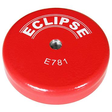 Eclipse Magnetic E781 Ferrite Shallow Pot Magnets-Threaded hole