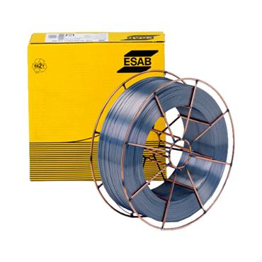ESAB 163208982 3OK Autrod 316LSi Stainless Grade Solid Mig Wire 0.8mm - 15Kg on Wire Basket.