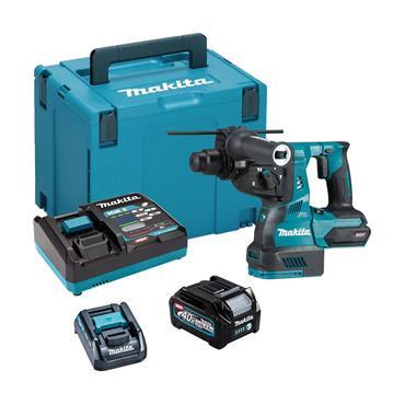 Makita HR003GD101 40V BL XGT Max Rotary Hammer Drill, 1 x 2.5Ah Batttery