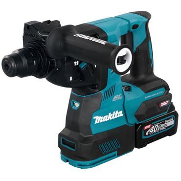 Makita HR003GD203 40V BL XGT Max Rotary Hammer Drill, 2 x 2.5Ah Batttery