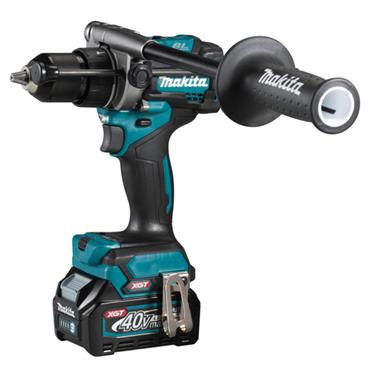 MAKITA HP001GD102 40Vmax  BL XGT Combi Drill, 1 x 2.5Ah Battery