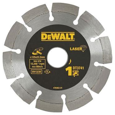 Dewalt DT3741-XJ Segmented Rim Diamond Disc 125x22.2x7.5mm