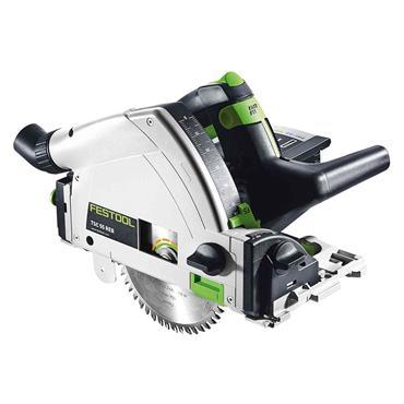 Festool 576906 TSC 55 Li REB-Basic Cordless Plunge-Cut Saw, 2 x 5.2Ah Batteries