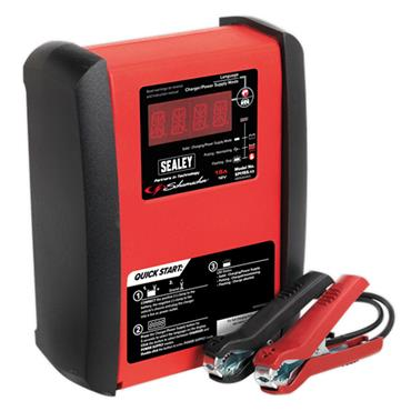 Sealey SPI15S  Schumacher® Intelligent Speed Charge Battery Charger 15A 12V