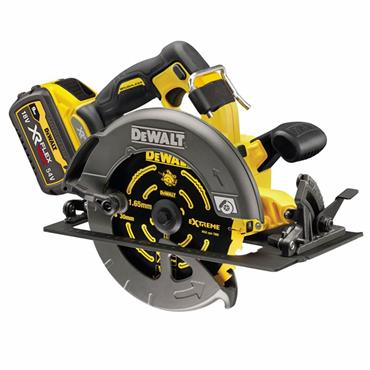 DeWalt DCS579T2 54V FlexVolt High Power Rail Circular Saw 190mm, 2 x 6.0Ah Batteries