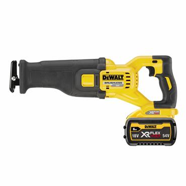 DEWALT DCS389T2 54V XR Flexvolt Reciprocating Saw,  2 X 6.0Ah Batteries