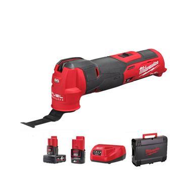 Milwaukee M12FMT-422X 12V M12 FUEL™ Multi-Tool, 1 x 2.0Ah & 1 x 4.0Ah Batteries