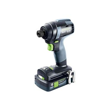 Festool 576484 18V  TID 18 HPC 4,0 I-Plus Impact Drill I-Plus, 2 x 4.0Ah Batteries