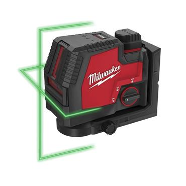 MILWAUKEE L4CLL-301C Green Laser Level