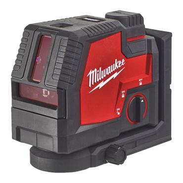 MILWAUKEE L4CLLP-301C Green Laser Level with Plum Bob