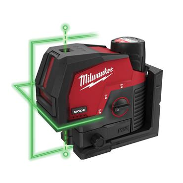 MILWAUKEE M12CLLP-301C M12 12V Green Laser Level