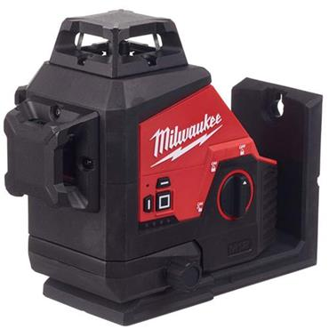 MILWAUKEE M123PL-401C M12 12V Laser Level, 1 x 3.0Ah Battery