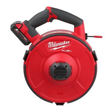 MILWAUKEE M18FPFT-202  M18 Fuel Powered Fish Tape 30m, 2 x 2.0Ah Batteries