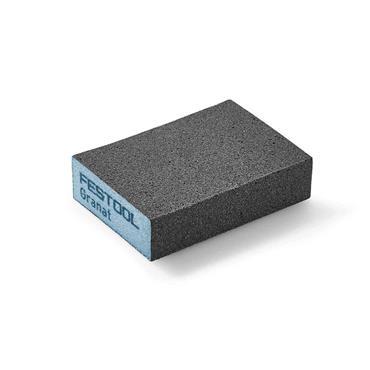 FESTOOL 201082 Sanding Block Granat 69x98x26mm 120 GR/6, Pack of 6