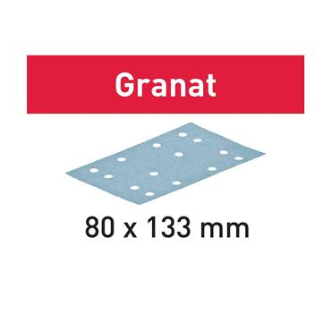 FESTOOL 497119 Abrasive Sheet Granat STF 80x133mm P80 GR/50