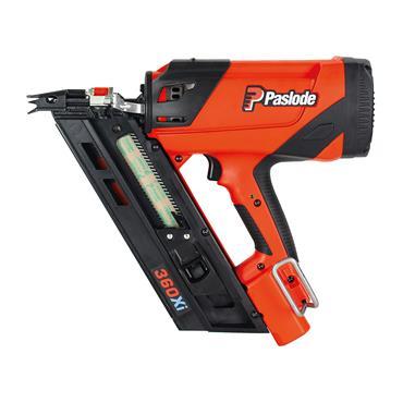 PASLODE 360Xi Lithium Gas 90mm First Fix Framing Nail Gun, 1 x 2.1Ah Lithium battery