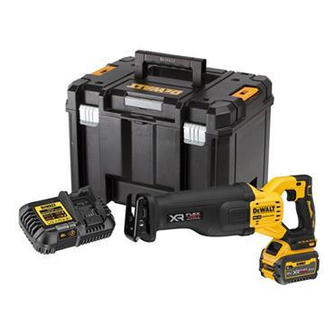 DEWALT DCS386T1 18V XR High Power Reciprocating Saw With Flexvolt Advantage, 1 x 6.0Ah Batteries