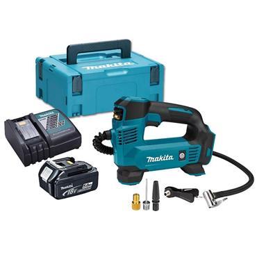 MAKITA DMP180RT1J 18V LXT Inflator, 1 x 5.0 Ah Batteries