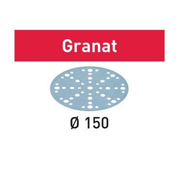 FESTOOL 575156 STF D150/48 P80 GR/10 Abrasive sheet Granat