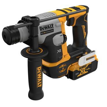 DEWALT DCH172P2 18V XR Brushless Ultra Compact SDS+ Rotary Hammer, 2 x 5.0Ah Batteries