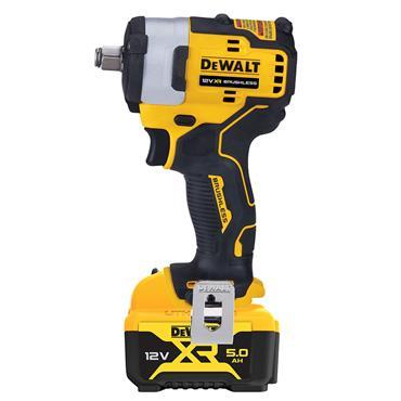 """DEWALT DCF901P1 12V Brushless 1/2"""" Impact Wrench,  1 x 5.0ah Battery"""