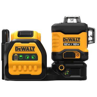 DEWALT DCE089D1G18 18V Green Beam Multi-Line Laser,  1 x 2.0Ah Battery