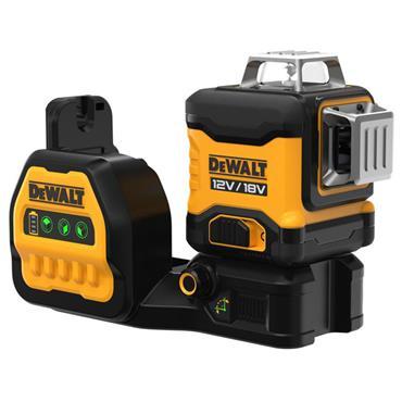 DEWALT DCE089NG18-XJ 18V 3x360deg Green Beam Multi-Line Laser,  Bare Unit