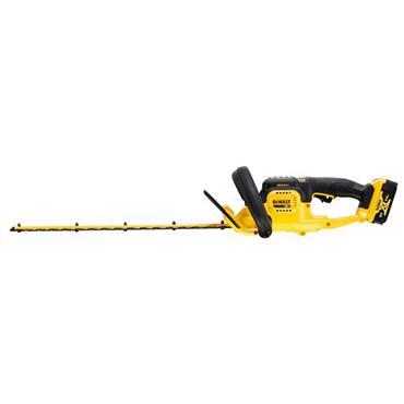DEWALT DCMHT563P1 18V XR 55cm Hedge Trimmer, 1 X 5.0Ah Batteries