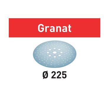 FESTOOL 205655 STF D225/128 P80 (PACK OF 25) Abrasive sheet Granat