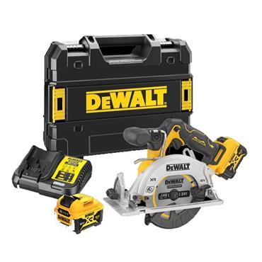 DEWALT DCS512P2-GB 12V XR 140mm Circular saw, 2 x 5Ah Batteries