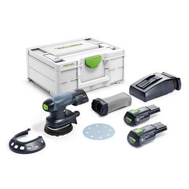 FESTOOL 576372 18V ETSC 125 3,1 I-Plus Cordless Eccentric Sander